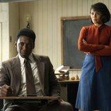 La pareja formada por Mahershala Ali y Carmen Ejogo en la tercera temporada de 'True Detective'