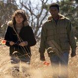 Carmen Ejogo y Mahershala Ali en la tercera temporada de 'True Detective', de HBO