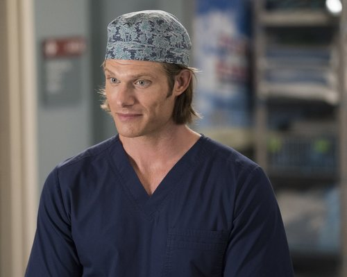 Chris Carmack en la temporada 15 de 'Anatomía de Grey', de ABC