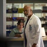 James Pickens Jr. en la temporada 15 de 'Anatomía de Grey', de ABC
