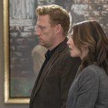 Los actores Kevin McKidd y Caterina Scorsone en la temporada 15 de 'Anatomía de Grey', de ABC