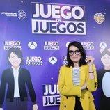 Silvia Abril posando en la presentación de 'Juego de juegos'