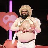 Juan Miguel disfrazado de Cupido en la Gala 7 de 'GH Dúo'