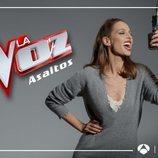 Eva González presentando 'Los Asaltos', segunda fase de 'La Voz'