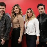 Miriam Rodríguez, David Bustamante, Karol G y Antonio José son los asesores de 'La Voz'