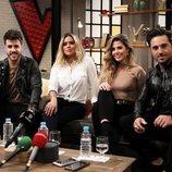 Miriam, Bustamante, Karol G y Antonio José son los asesores de 'La Voz'
