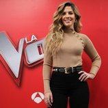 Miriam Rodríguez, asesora de Pablo López en 'La Voz'