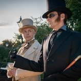 Michael Sheen y David Tennant, protagonistas de 'Good Omens'