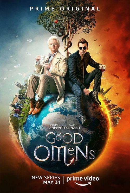Cartel de 'Good Omens', serie de Amazon Prime