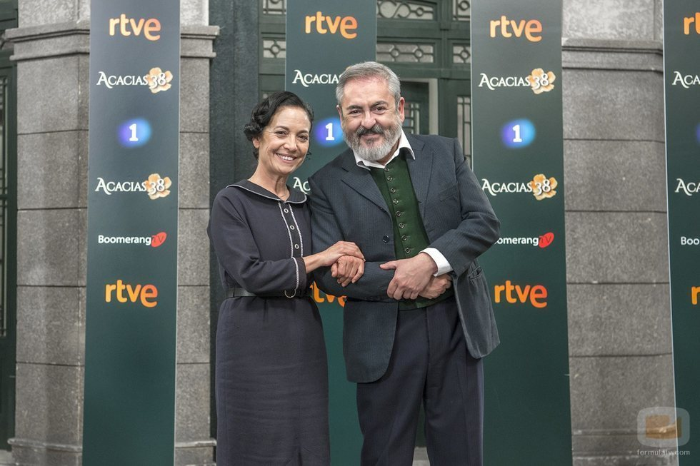 Servando y Fabiana de 'Acacias 38'
