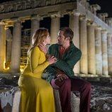 Alexander Skarsgard y Florence Pugh en 'La chica del tambor'