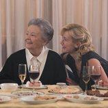María Galiana y Ana Duato en el rodaje de la 20ª temporada de 'Cuéntame cómo pasó'