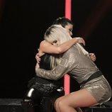 Ylenia abraza a Yoli en la Gala 8 de 'GH Dúo'