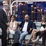 Jorge Javier Vázquez habla con Julio Ruz en la Gala 8 de 'GH Dúo'