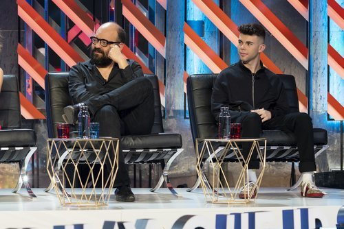 Ignatius Farray y el youtuber Salva en 'El Roast de José Mota'