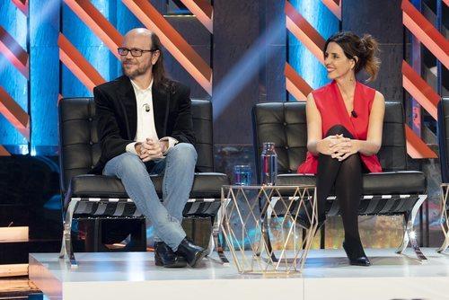 Santiago Segura y Marta González de Vega en 'El Roast de José Mota'