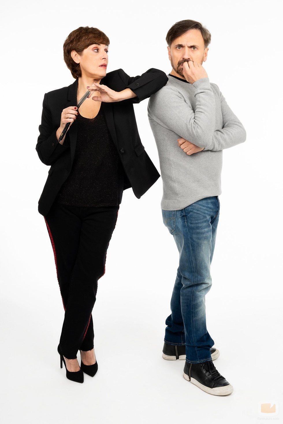 Anabel Alonso y José Mota en una imagen promocional de 'El Roast de José Mota'