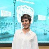 María León posa en la presentación de la quinta temporada de 'Allí abajo'
