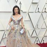 Michelle Yeoh en la alfombra roja de los Oscar 2019
