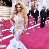 Shangela en la alfombra roja de los Oscar 2019