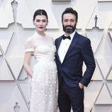 Rodrigo Sorogoyen y Marta Nieto en la alfombra roja de los Oscar 2019