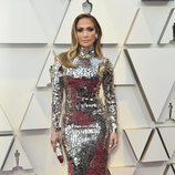 Jennifer López en la alfombra roja de los Oscar 2019