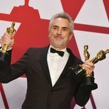 Alfonso Cuarón, ganador de tres premios en los Oscar 2019