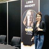 Lena Headey posa en la Heroes Comic Con de Valencia