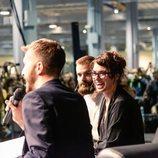 Lena Headey, en una de las charlas de la Heroes Comic Con de Valencia