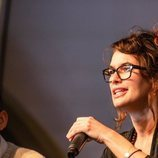 Lena Headey durante su visita a la Heroes Comic Con de Valencia