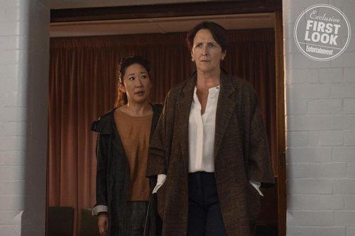 Sandra Oh y Fiona Shaw, en la segunda temporada de 'Killing Eve'