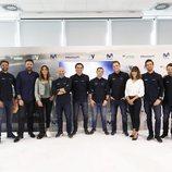 El equipo de Movistar F1 posa en la presentación de la temporada 2019 de Fórmula 1