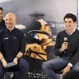 Antonio Lobato y Carlos Sainz durante la presentación de la campaña 2019 de Fómula 1