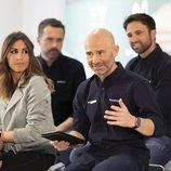 Noemí de Miguel y Antonio Lobato durante la presentación de la temporada 2019 de Fórmula 1