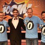 Los Lobos y Juanra Bonet en el programa 1000 de '¡Boom!'