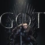 Póster individual de Jon Nieve para la octava temporada de 'Juego de tronos'