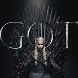 Póster individual de Daenerys Targaryen para la octava temporada de 'Juego de tronos'