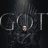 Póster individual de Arya Stark para la octava temporada de 'Juego de Tronos'