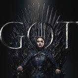 Póster individual de Sansa Stark para la octava temporada de 'Juego de Tronos'