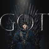 Póster individual de Bran Stark para la octava temporada de 'Juego de Tronos'