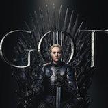 Póster individual de Brienne de Tarth para la octava temporada de 'Juego de Tronos'