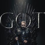 Póster individual de Jorah Mormont para la octava temporada de 'Juego de Tronos'