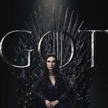 Póster individual de Melisandre para la octava temporada de 'Juego de Tronos'