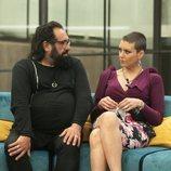 Juan Miguel y María Jesús durante la Gala 9 de 'GH Dúo'