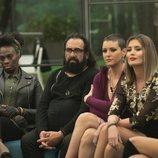 Carolina Sobe, Juan Miguel, María Jesús y Candela en la Gala 9 de 'GH Dúo'