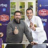 Dani García y Antonio Romero en 'Hacer de comer', de La 1