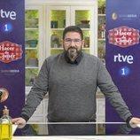 Dani García en la presentación de 'Hacer de comer' de La 1