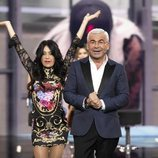 Maite Galdeano y Jorge Javier Vázquez en la Gala 9 de 'GH Dúo'