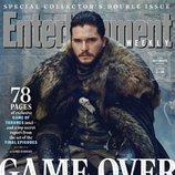 Kit Harington como Jon Nieve de 'Juego de Tronos' en la revista EW