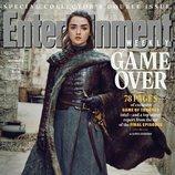 Maisie Williams como Arya Stark de 'Juego de Tronos' en la revista EW